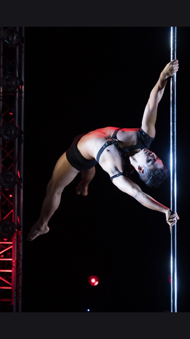 pole dance 2016 london